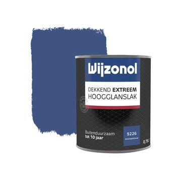 Wijzonol Dekkend Extreem koningsblauw hoogglans 750 ml
