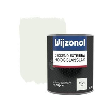 Wijzonol Dekkend Extreem wit hoogglans 750 ml