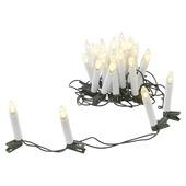 Kerstverlichting binnen 25 kaarslampjes