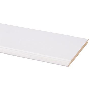 CanDo schroot MDF kraal wit gegrond 9x135 mm 260 cm 5 stuks