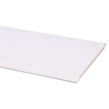 CanDo schroot MDF V-groef wit gegrond 9x203 mm 260 cm 3 stuks
