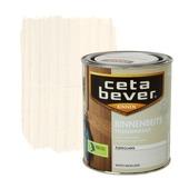 CetaBever binnenbeits transparant whitewash zijdeglans 750 ml