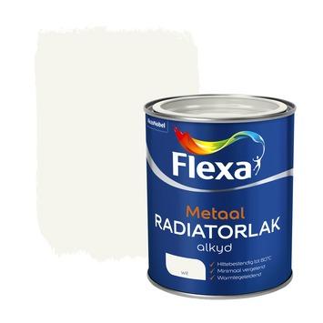 Flexa radiatorlak wit 750 ml