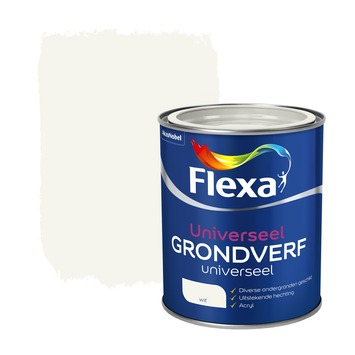 Flexa grondverf universeel wit 750 ml
