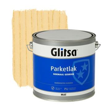 Glitsa Normaal Gebruik parketlak kleurloos mat 2,5 liter