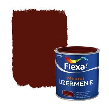 Flexa ijzermenie metaal grondverf roodbruin 250 ml