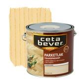 CetaBever parketlak kleurloos zijdeglans 2,5 liter