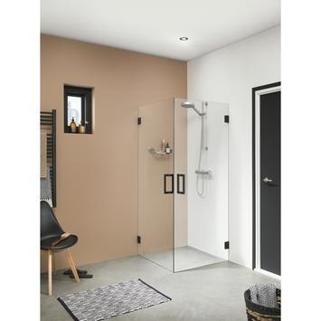 Get Wet Swingdeur voor Hoekinstap I AM 100x200 cm Zwart