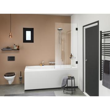 Get Wet Badwand I AM 85x160 cm Zwart