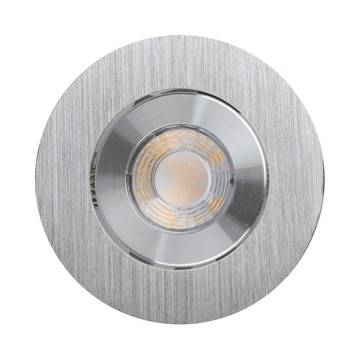 GAMMA inbouwspot LED 9,3W rond richtbaar aluminium