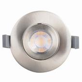 GAMMA inbouwspot LED 9,3W richtbaar staal