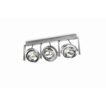 Philips Fast balkspot 3xG9 max. 60 W exclusief lampen aluminium