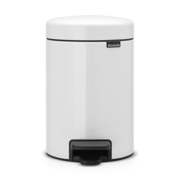 Brabantia Pedaalemmer New Icon Wit 3 Liter