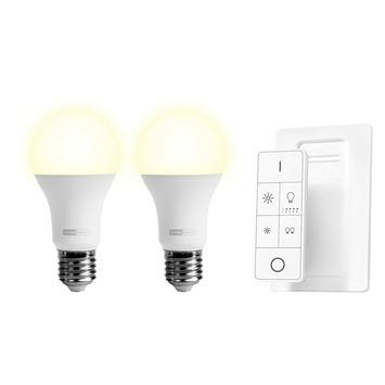 KlikAanKlikUit 2 Dimbare Ledlampen en Afstandsbediening ALED2-2709R