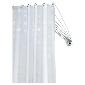 Sealskin Douchegordijnstang Umbrella Aluminium
