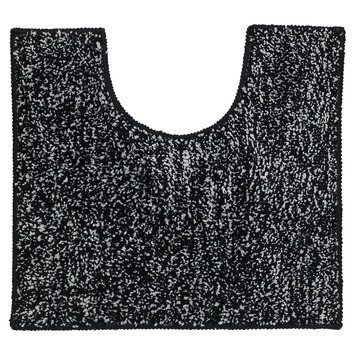 Sealskin WC mat Speckles Zwart 50x45 cm