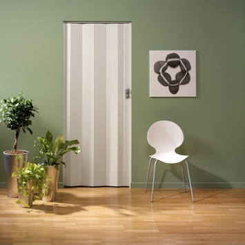 Grosfillex vouwdeur spacy wit essen 84x205 cm