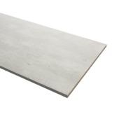 Meubelpaneel beton met 2-zijdig ABS afwerkband 18 mm 60x240 cm