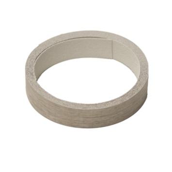 Strijkband eiken grijs 23 mm 2,5 meter