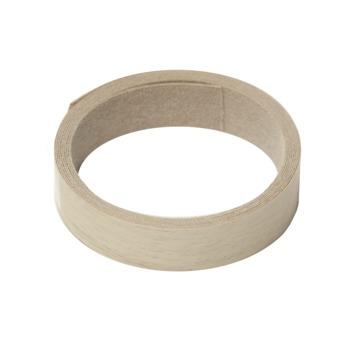 Strijkband eiken wit 23 mm 2,5 meter
