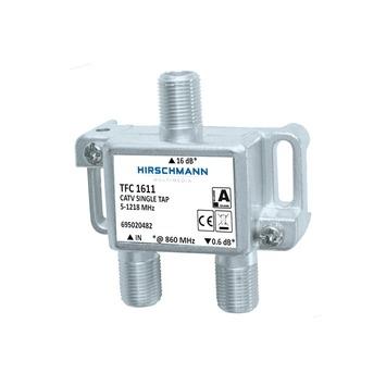 Hirschmann aftakelement 1V F-connector TFC1611