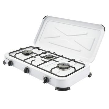 Kooktoestel Wit 3-pits