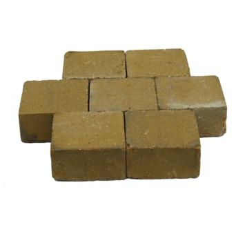 Trommelsteen Beton Geel 14x14x7 cm - 315 Stuks / 6,18 m2