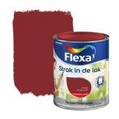 Flexa Strak in de Lak antiekrood hoogglans 750 ml