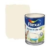 Flexa Strak in de Lak lakverf zijdeglans ivoorwit 1,25 l