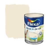 Flexa Strak in de Lak roomwit zijdeglans 1,25 liter