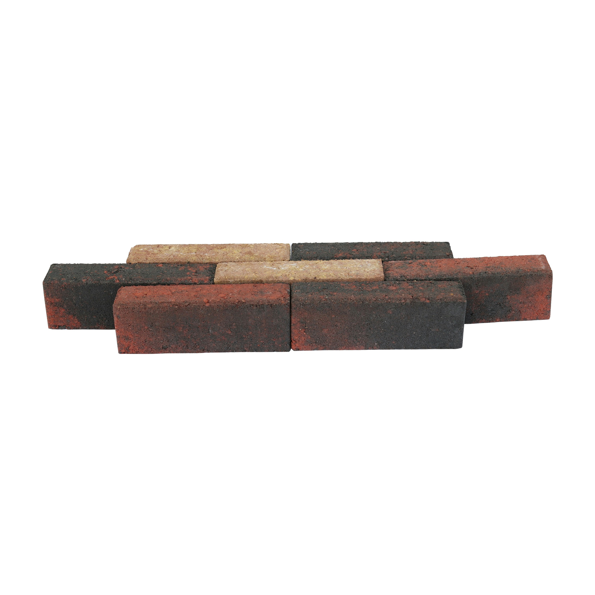 Klinker Beton Bont Waalformaat 20x5x7 cm - 66 Klinkers - 0,66 m2