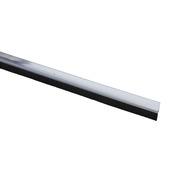 Handson tochtstrip met borstel PVC transparant 93 cm