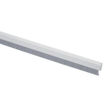 Handson tochtstrip flexibele borstel zelfklevend PVC wit  93 cm