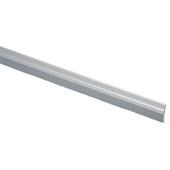 Handson tochtstrip met borstel zelfklevend aluminium zilver 93 cm