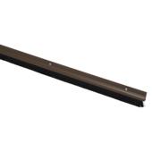 Handson tochtstrip met borstel PVC bruin 93 cm