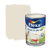 Flexa Strak in de Lak RAL 9001 crème wit hoogglans 1,25 liter