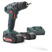 Metabo accuboormachine BS18 2 lithium-ion accu's 18 volt