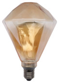 Lamp diamant goud