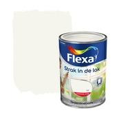 Flexa Strak in de Lak wit hoogglans 1,25 liter