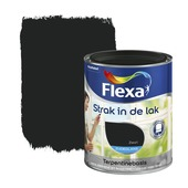 Flexa Strak in de Lak zwart zijdeglans 750 ml