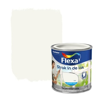 Flexa Strak in de lak wit zijdeglans 250 ml