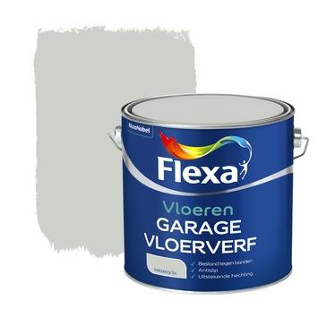 Flexa vloerverf garage kiezelgrijs 2,5 liter