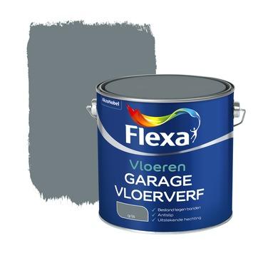 Flexa vloerverf garage grijs 2,5 liter