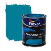 Flexa Creations lak turquoise holiday zijdeglans 750 ml