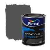 Flexa Creations lak industrial grey zijdeglans 750 ml