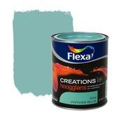 Flexa Creations lak vintage blue hoogglans 750 ml