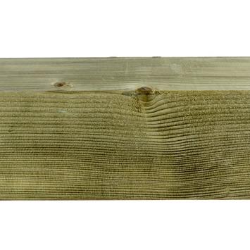 Tuinpaal geïmpregneerd ca. 12x12 cm, lengte ca. 300 cm