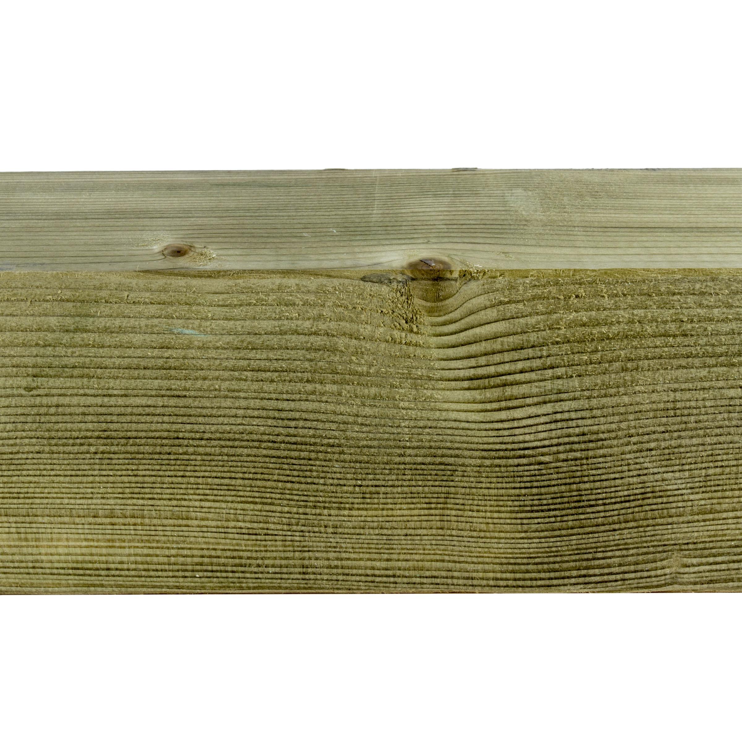 Steunpaal vuren ca. 12x12 cm, lengte 300 cm
