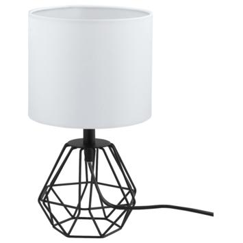EGLO tafellamp Carlton zwart/wit