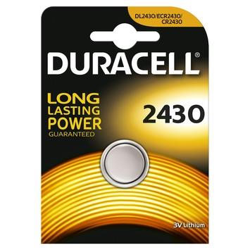 Duracell Batterij CR2430 Lithium-knoopcelbatterij 3V